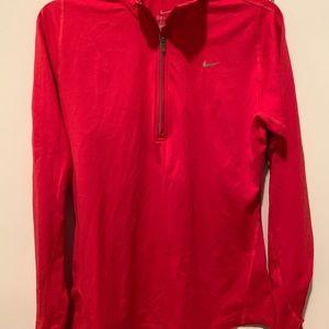 Women's Nike Dry Fit Half Zip Running Training Top